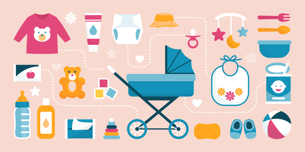 Prepare for the costs of baby-related items